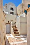 Santorini. Architecture in Santorini island in Greece Stock Images