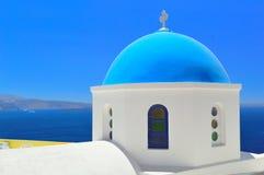 Santorini architecture, Oia Stock Images