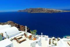 Santorini architecture, Oia Royalty Free Stock Image