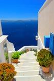Santorini architecture, Oia Stock Image