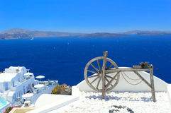 Santorini arkitektur, Oia Royaltyfri Fotografi