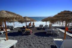 Santorini beach,Greece Royalty Free Stock Image