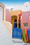 Santorini beautiful buildings Stock Images