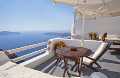 Santorini beautiful view Stock Photography