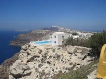 Santorini. Beautifull view in Santorini Stock Images