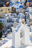 Santorini Bell Tower shallow DOF Royalty Free Stock Images