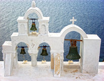Santorini Bells Royalty Free Stock Image