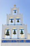 Santorini belltower (Oia), Greece Stock Photos