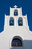 Santorini belltower (Oia, Griechenland) Lizenzfreies Stockbild