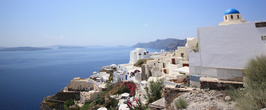 Santorini in blue Stock Images