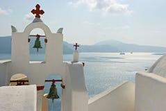 Santorini branco. Imagem de Stock Royalty Free