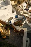 Santorini buildings Royalty Free Stock Images