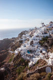 Santorini buildings in Oia Royalty Free Stock Photography