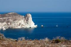 Santorini Caldera Greece Stock Images