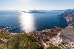 Santorini Caldera Greece Royalty Free Stock Image
