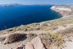 Santorini Caldera Greece Royalty Free Stock Photo