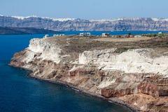 Santorini Caldera Greece Royalty Free Stock Photography