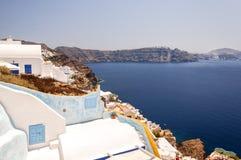 Santorini Caldera from Oia Royalty Free Stock Photography
