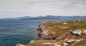 Santorini caldera view Stock Image