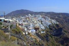 Santorini capital Thira Stock Photos