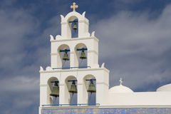 Santorini Carillon Royalty Free Stock Photos