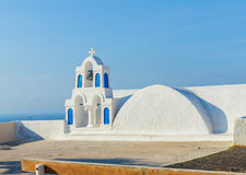 Santorini chapel Royalty Free Stock Photo