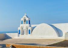 Santorini chapel Royalty Free Stock Photo