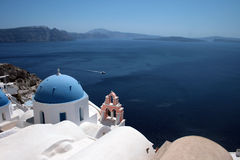 Santorini Church Royalty Free Stock Photos