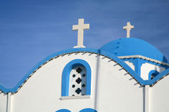 Santorini Church Royalty Free Stock Photo