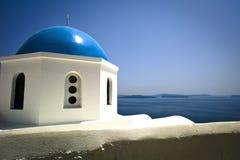 Santorini Church royalty free stock photography