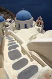 Santorini Church Stock Images