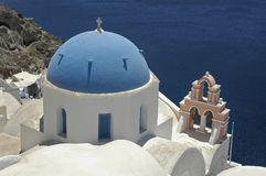 Santorini Church Stock Photos