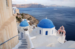 Santorini Church Dome Royalty Free Stock Image