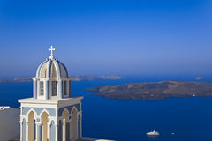 Santorini church - Greece Royalty Free Stock Photo
