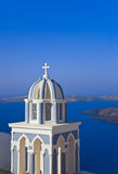 Santorini church - Greece Stock Image