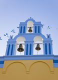 Santorini church - Greece Stock Photography