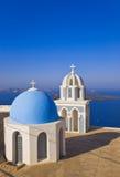 Santorini church - Greece Stock Image