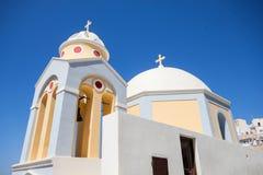 Santorini church. royalty free stock photos