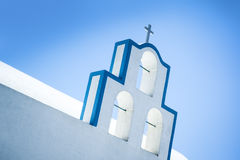 Santorini church Stock Photo