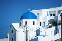 Santorini church Royalty Free Stock Image