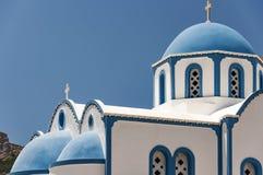 Santorini Church at Kamari Stock Photography