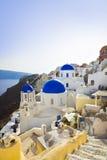 Santorini church (Oia), Greece Royalty Free Stock Image