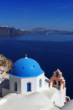 Santorini Church in Oia, Greece Stock Image