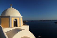 Santorini church Stock Photo