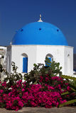 Santorini Churches in Oia, Greece Stock Photography