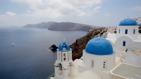 Santorini stock video footage
