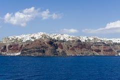Santorini Coast Stock Photos