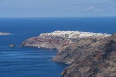 Santorini coast Royalty Free Stock Photography