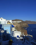 Santorini coastline view Stock Photography