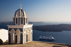 Santorini cruise Royalty Free Stock Image